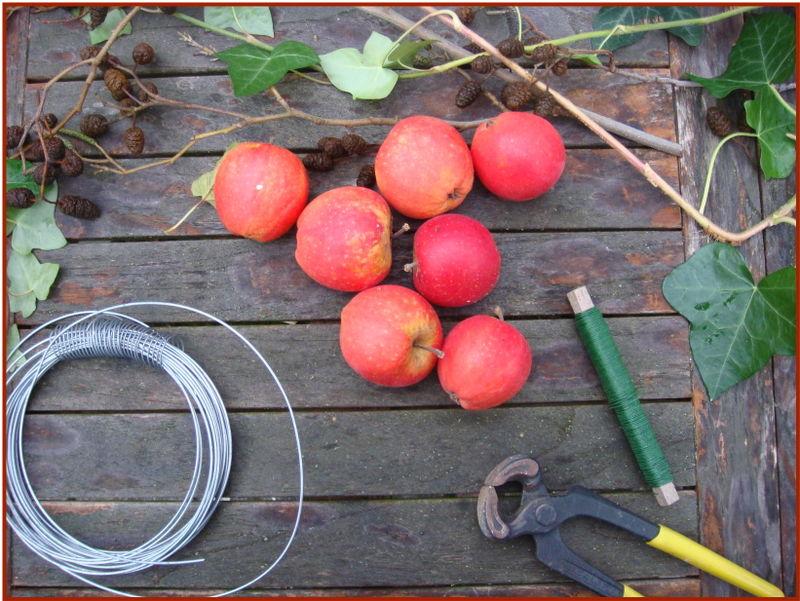 Æblekrans det skal du bruge