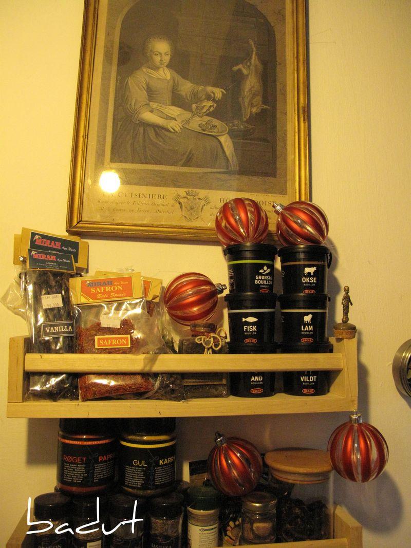 Drillenisse i krydderierne