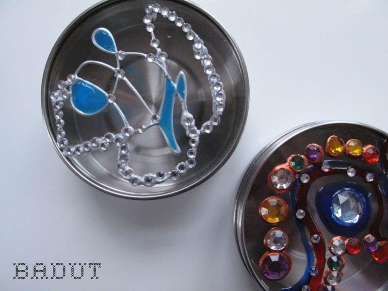 Glasmaling og diamanter