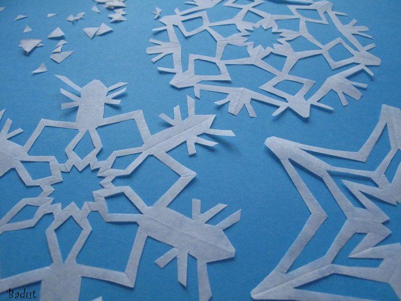 Snefnug færdige og strøget