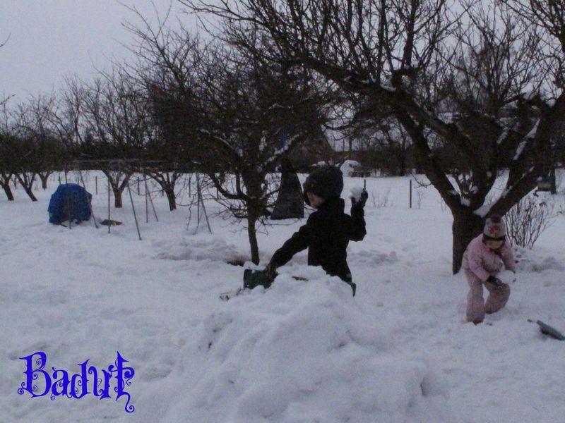 Sneboldkamp bolde støbes