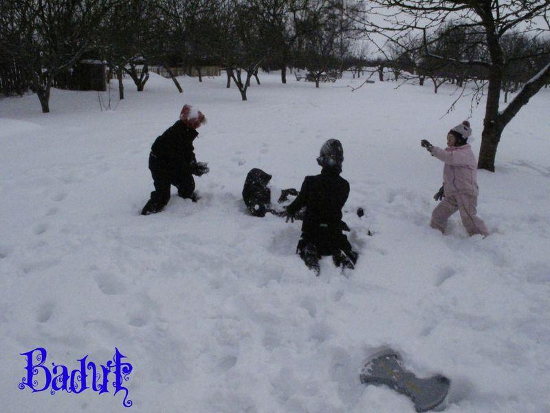 Sneboldkamp tre mod én