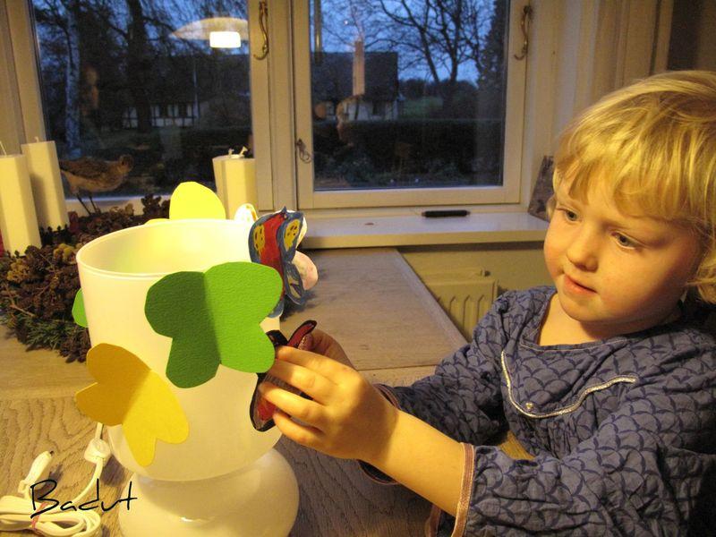 Gaver børn kan lave sommerfugle