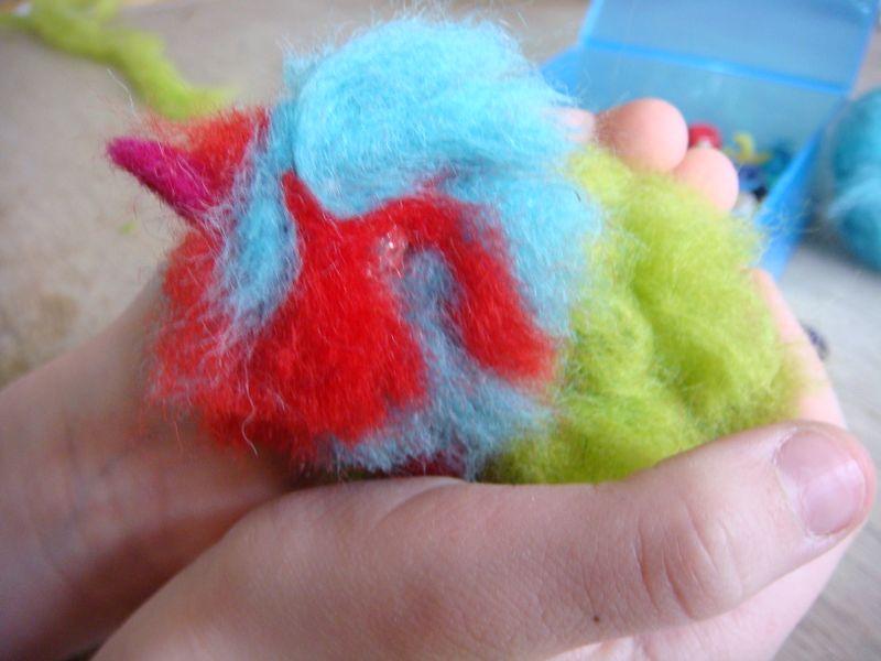 Lille uld fugl