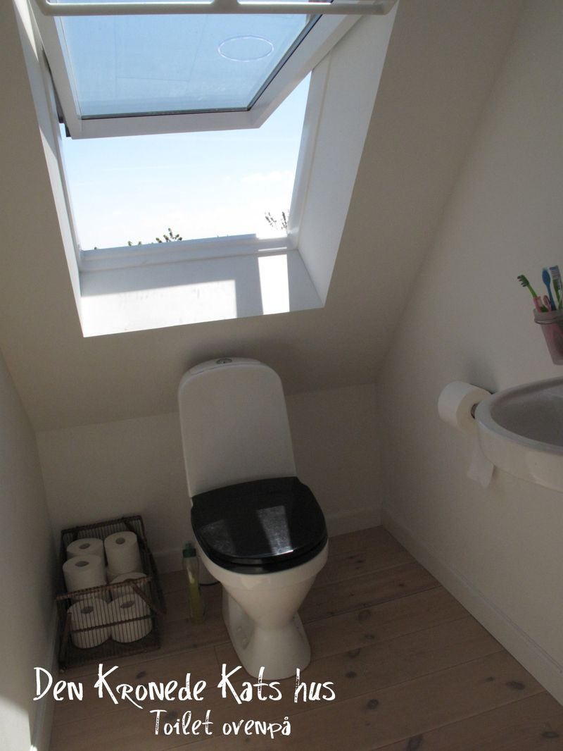 Toilet ovenpå