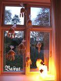 Popkornshænder til Halloween