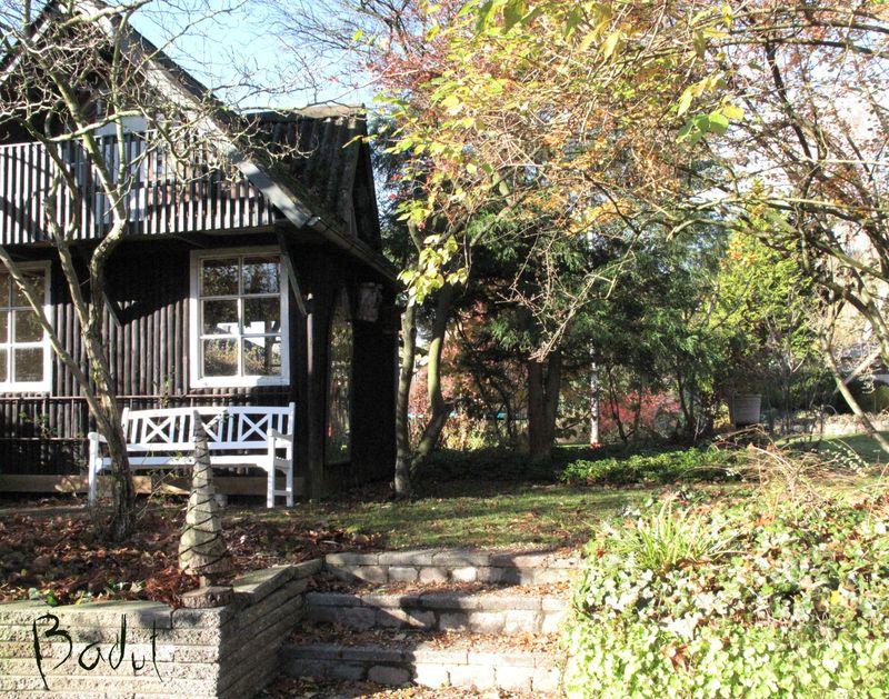 Havehuset fra å siden