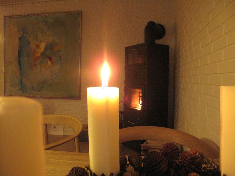 1 søndag i advent det første lys