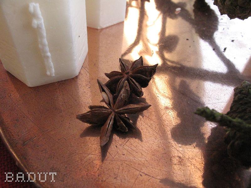 Lynhurtig adventskrans stjerneanis