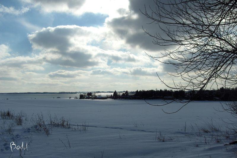 Vinterbilleder dejlig er den himmel blå
