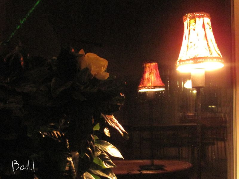 Lys i lampen