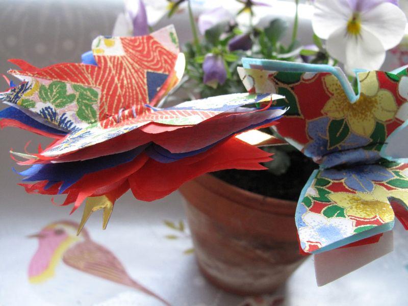 Sommerfugle i urtepotte