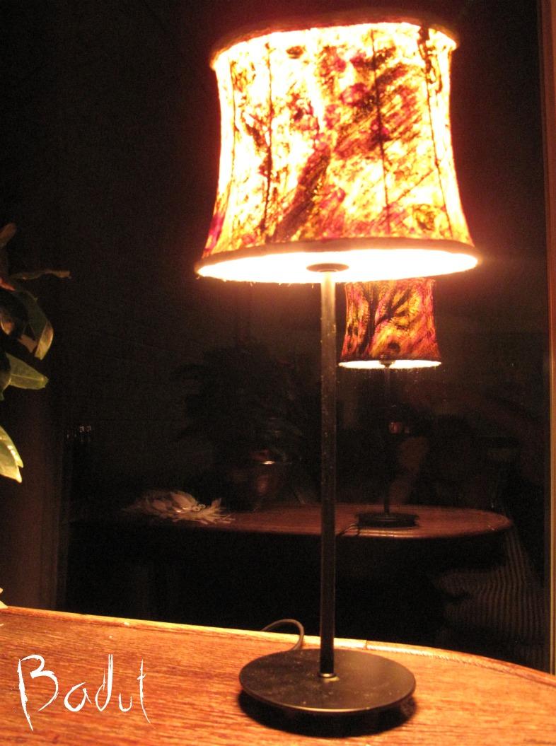 Hjemmelavet lampeskærm