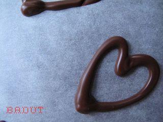 Fine chokolade valentins hjerter