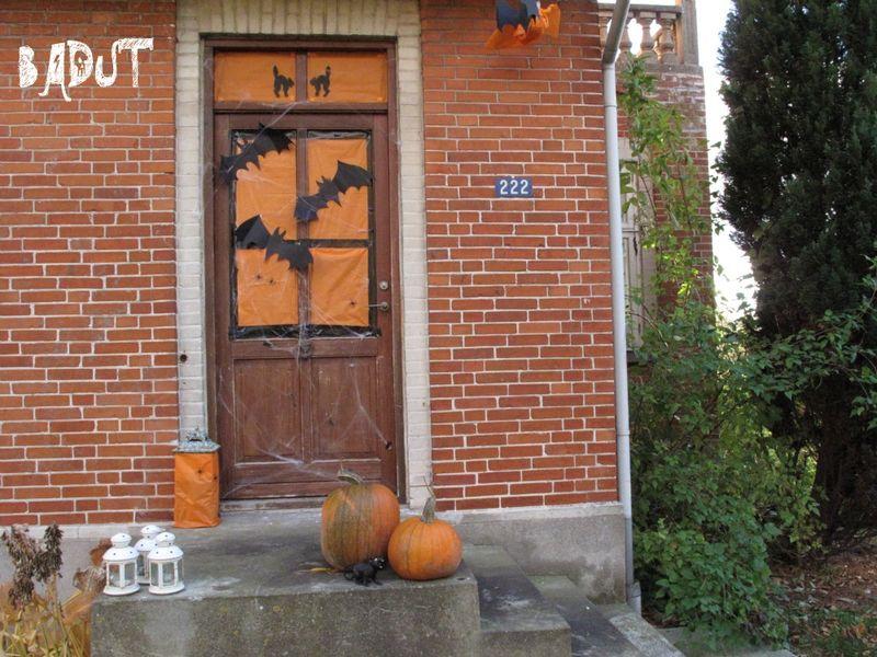 Halloween dør
