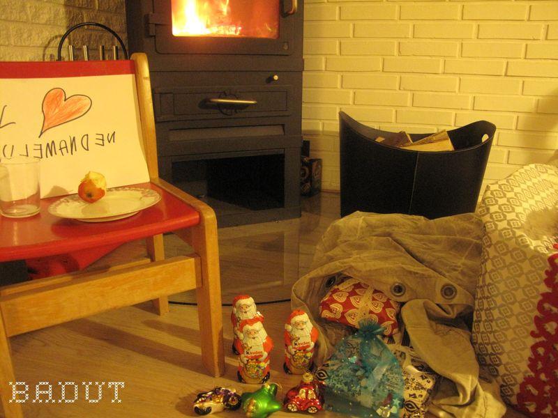 Julemanden på besøg