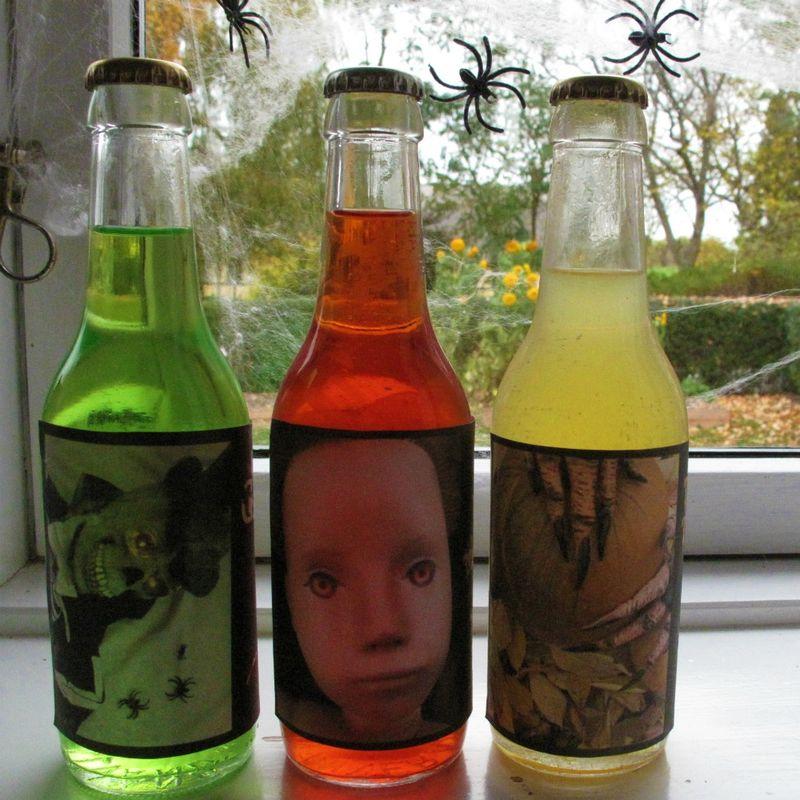Halloween sodavand