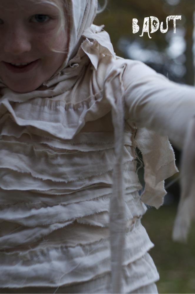 Sådan laver du et mumie kostyme