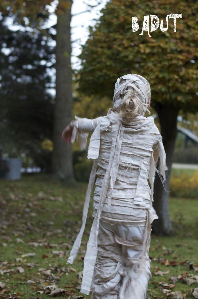 hurtige halloween kostumer