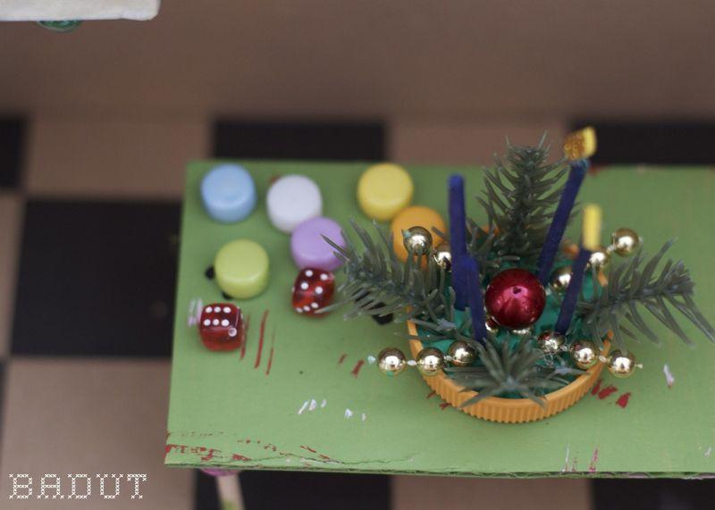 Shanes byg selv julekalender bord