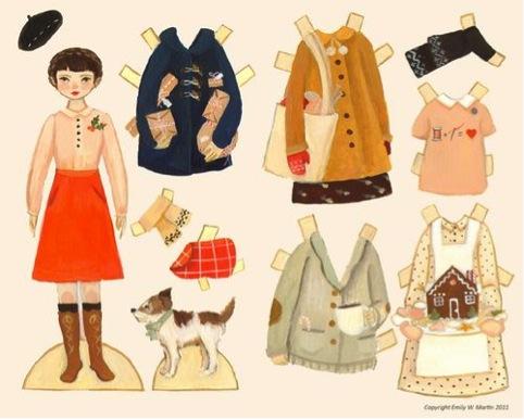 Påklædningsdukke