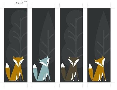 Gavemærker med ræve