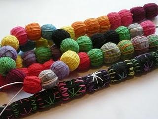 Smukke perler af stoffer