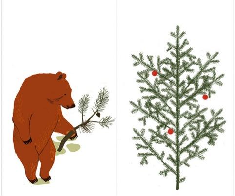 Til og fra kort jul