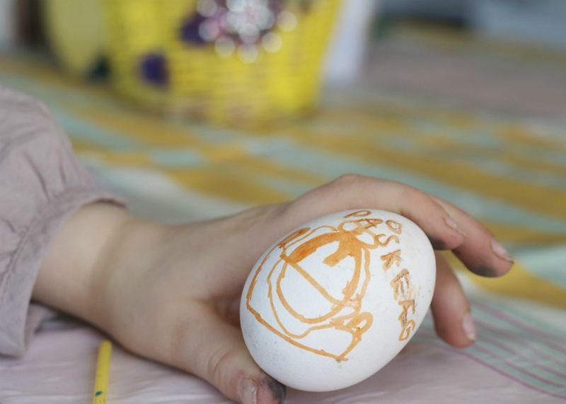 Påskeæg til æggelege