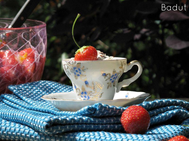 Jordbærdessert