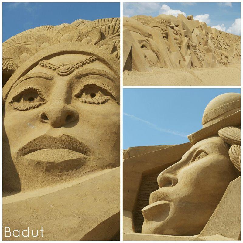 Sandskulpturer i Søndervig Sydamerika