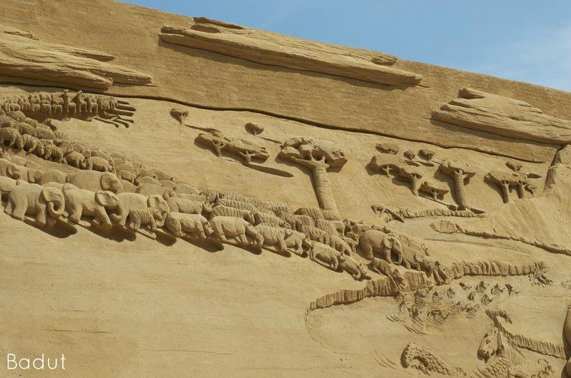 Afrika i sand