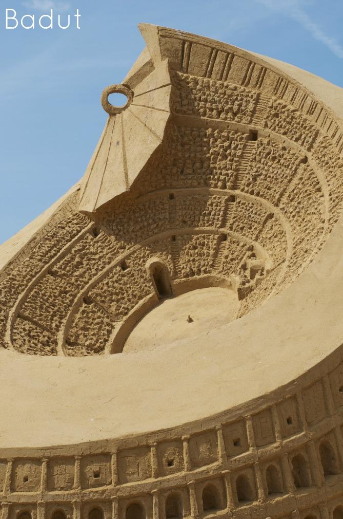 Colosseum af sand