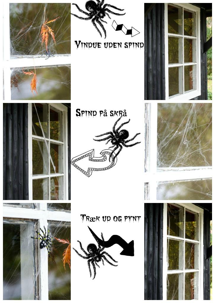 Sådan laver du spindelvæv
