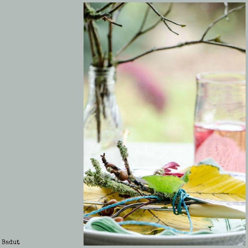 Efterårs bordpynt