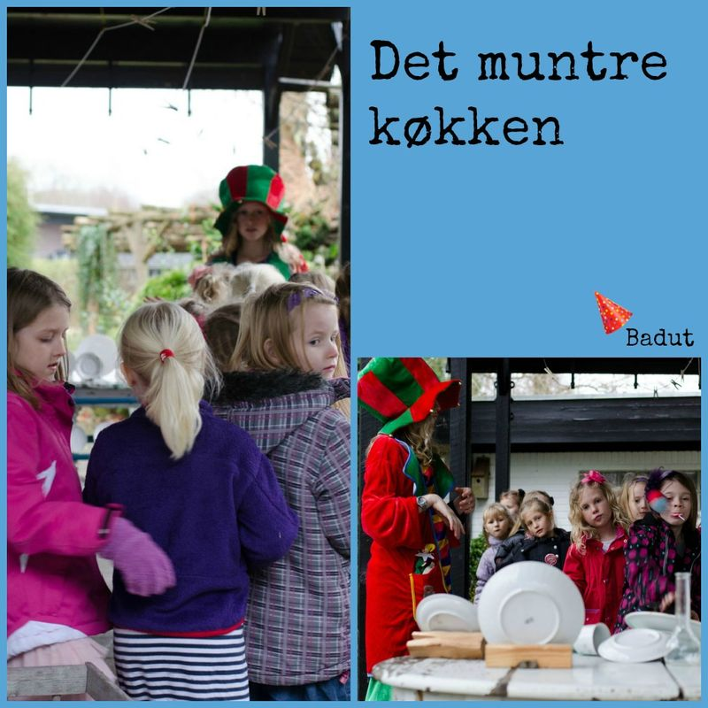 Det muntre køkken collage