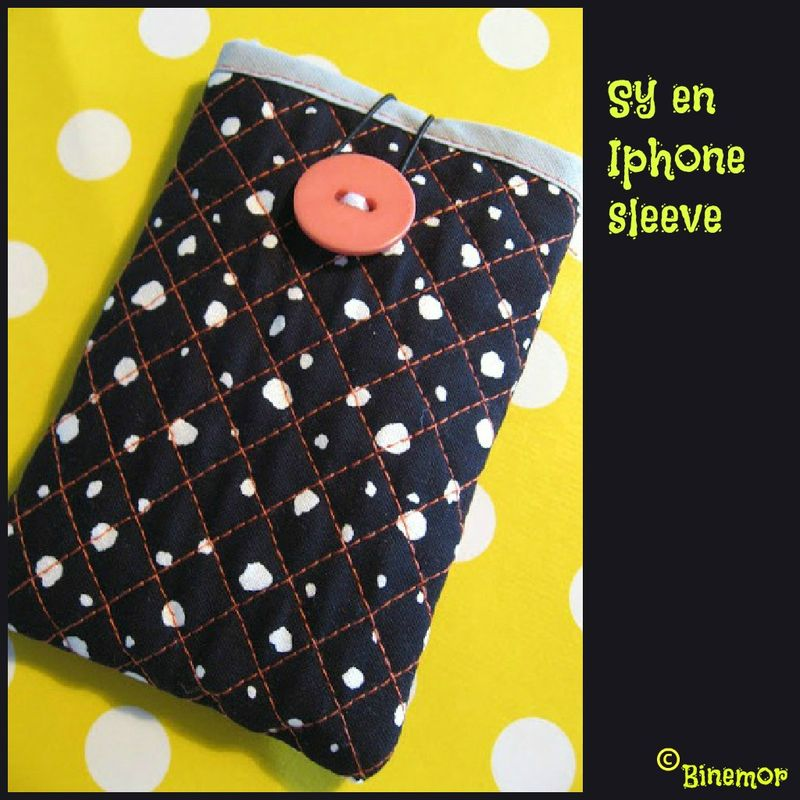 Sy en iPhone sleeve