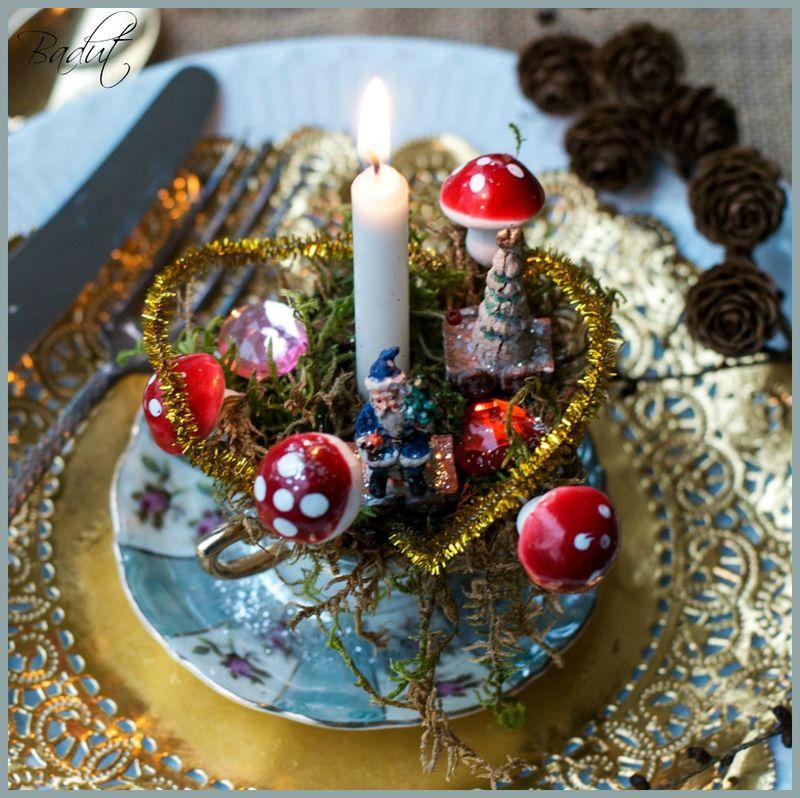 Bordpynt til jul