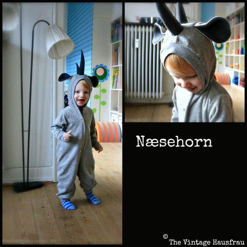 Næsehorns kostume