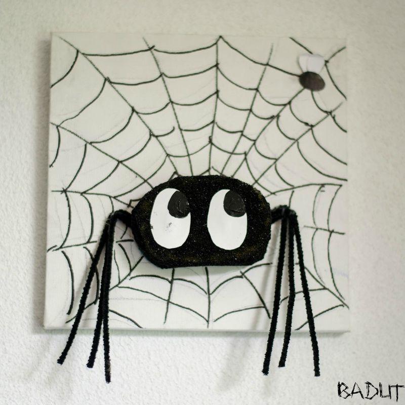 Edderkop på billed