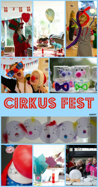 Alle vores ideer til cirkusfesten