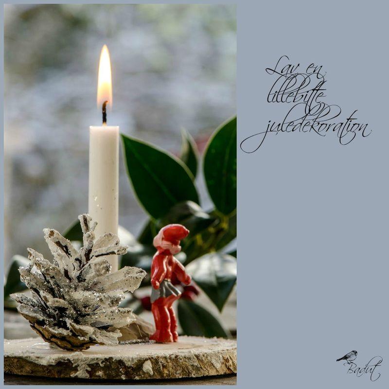 Lille juledekoration