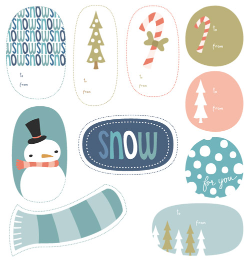 Holiday-tags
