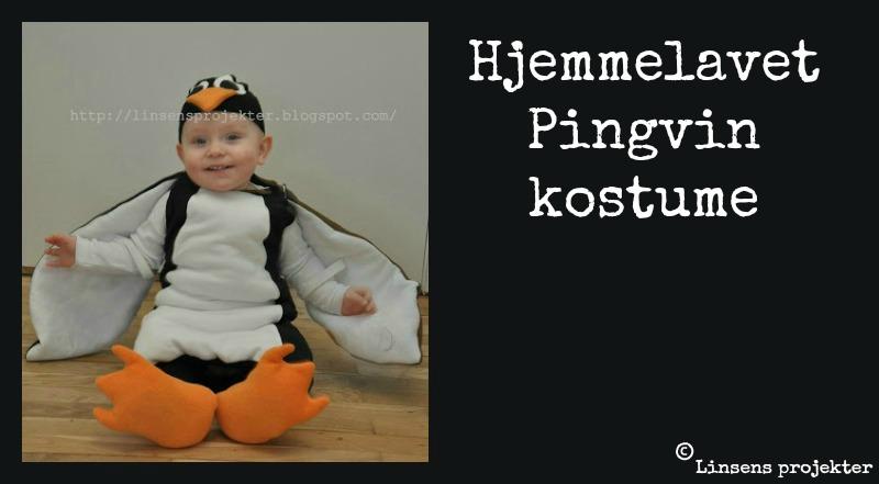 Pingvin kostume