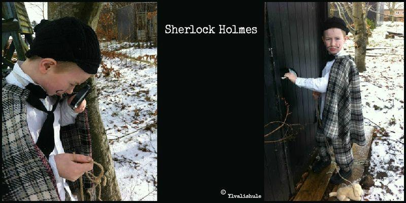 Sherlock Holmes kostume
