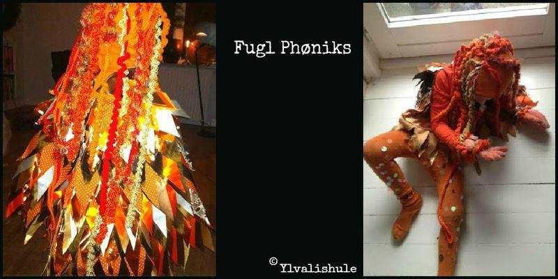 Fugl Phøniks kostume