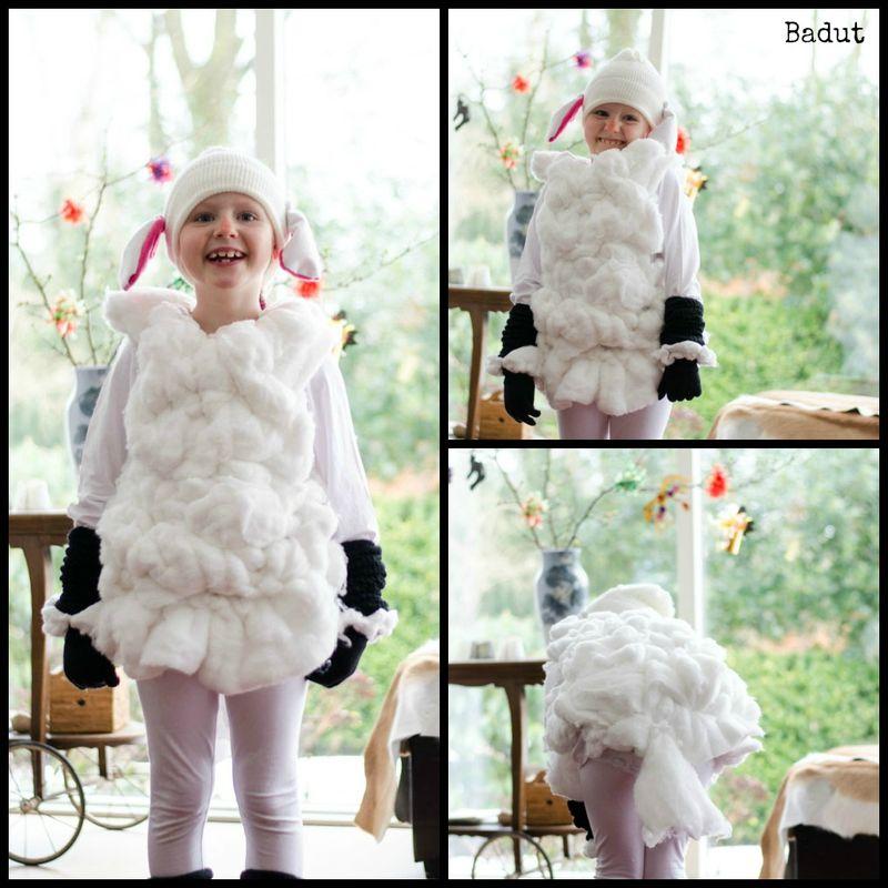 Lille lam kostume