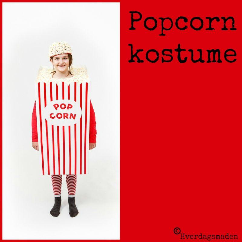Popcorn kostume