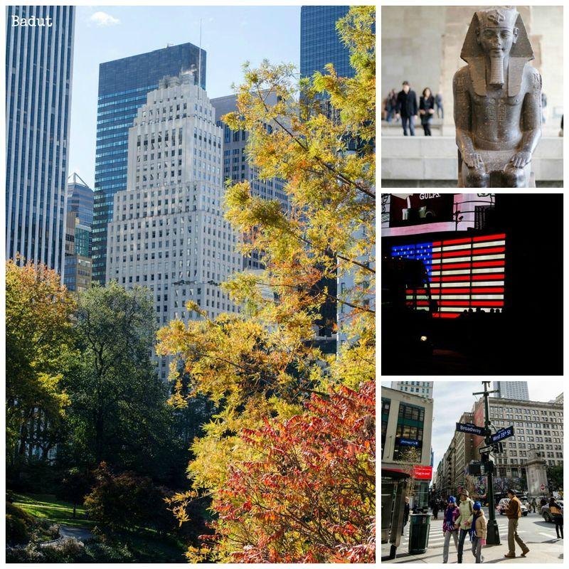 New York i farver