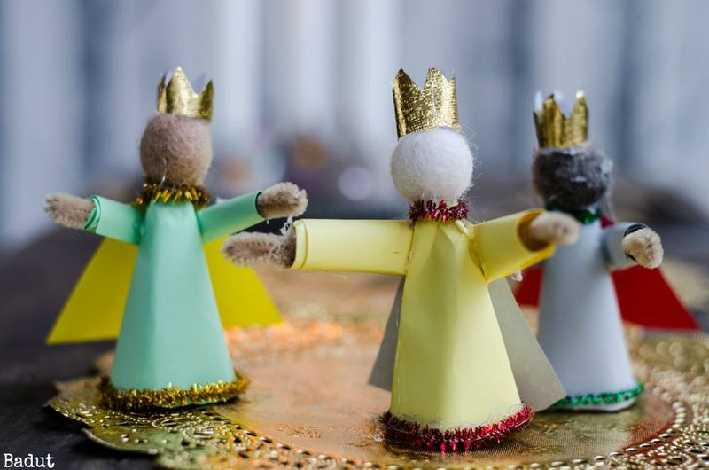 Hellig tre konger figurer